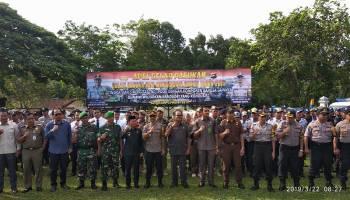 Kapolres Bangka Minta Semua Pihak Sukseskan Pemilu 2019