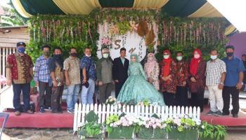 Kartini Tak Menduga, di Hari Pernikahannya Kedatangan Gubernur Babel