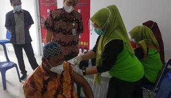 Kejaksaan Negeri Sungailiat Gelar Vaksinasi Tahap Kedua Untuk 250 Orang