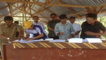 Kejari Basel, Pemdes dan BUMDes Sepakat Dukung Pembangunan Pabrik CPO di Desa Jeriji
