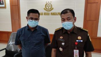 Kejari Pangkalpinang Tetapkan Dua Tersangka Tindak Pidana Korupsi KMK BRI Cabang Pangkalpinang
