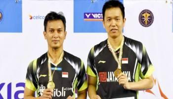 Kejuaraan Asia 2018 - Ahsan/Hendra Juga Tembus ke Putaran Utama