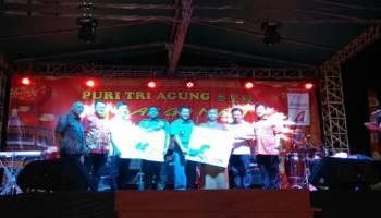 Kelompok Shaolin asal Tiongkok Hipnotis Ribuan Penonton di Puri Tri Agung