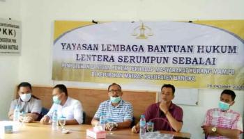 Kelurahan Matras Gandeng LBH LSS Guna Berikan Bantuan Hukum Kepada Warga