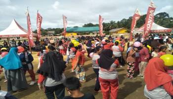 Kembali Gelar Roadshow, Honda Hibur Masyarakat Dusun Keranji