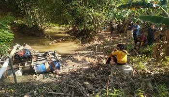 Kembali Penambang Liar di Hutan Menumbing Ditangkap