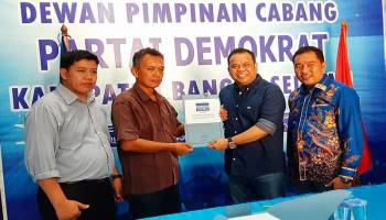 Kembalikan Formulir Pendaftaran, Rizani Usman Terus Komunikasi dengan Parpol