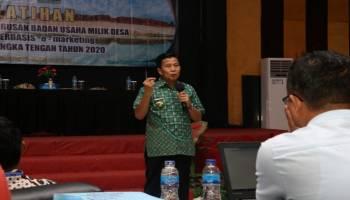 Kembangkan Sarana dan Prasarana Pemasaran, Pemkab Bateng Berikan Pelatihan E-Marketing Kepada 56 Desa