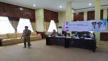 Kembangkan Sektor Pariwisata, Bupati Launching Aplikasi Bangka Tengah Travelpedia