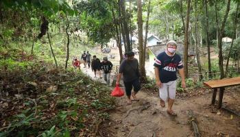 Kembangkan Wisata Air Terjun C2, Pengelola Berharap Bantuan Pemerintah