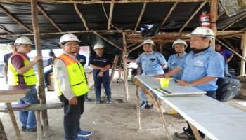 Kementerian ESDM RI Tinjau Proyek Pendalaman Alur DAS di Kampung Dul