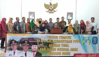 Kementerian PPPA Bersama Dinas P2KBP3A Bangka Gelar Diskusi Tematik