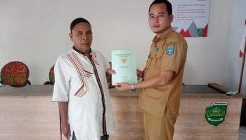 Kepala Desa Munggu Perjuangkan Infrastruktur Jalan dan Status Lahan