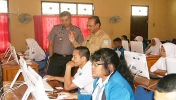 Kepolisian Siap Amankan UNBK SMA di Bangka Barat