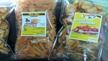 Keripik Singkong Cap Pohon Ketela Produksi Hingga 30kg Per Hari