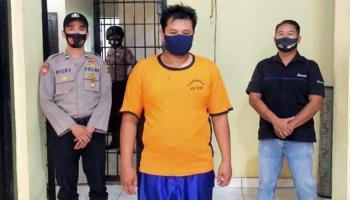 Ketahuan Mencuri, Polres Bangka Barat Amankan Karyawan PT Timah