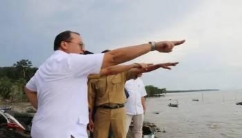 Ketemu Gubernur Babel, Kades Tanjungpura Minta Bangun Dermaga 100 Meter