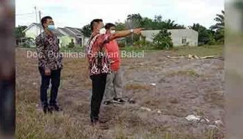 Ketua DPRD Babel Akan Perjuangkan Pembangunan SMAN 2 Sungailiat