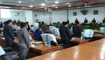 Ketua DPRD Bangka Berharap Pengesahan APBD 2020 Menjadikan Kabupaten Bangka Lebih Baik