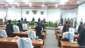 Ketua DPRD Bangka Ucapkan Selamat Atas Diraihnya WTP dari BPK Babel