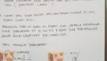 Ketua DPRD Basel Minta PT SNS Tepat Janji Sesuai Surat Pernyataan