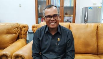 Ketua Fraksi Gerindra DPRD Bangka Tegaskan Tolak Penyertaan Modal Perumda Alam