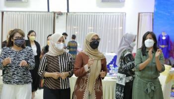 Ketua Persit KCK Koorcab PD II Sriwijaya Kunjungi Pulau Belitung dan Pulau Bangka