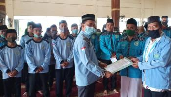 Ketua Umum BKPRMI Bangka Lantik DPK BKPRMI Mendo Barat