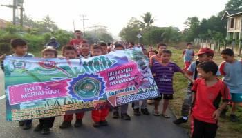 Khitanan Massal dan Jalan Sehat jadi kegiatan penutup Mahasiswa KKN di Cengkong Abang