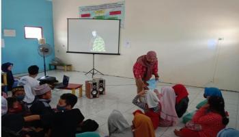 KKN Tematik UBB Gencarkan Program BIMBEL di Desa Lubuk Besar