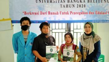 KKN UBB Bukit Betung, Launching Buku Profil Kelurahan