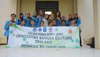 KKN UBB Desa Kace 2020 Siapkan Program Kerja Unggulan
