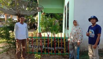 KKN UBB Desa Pagarawan Ajak Warga Manfaatkan Pekarangan Kosong