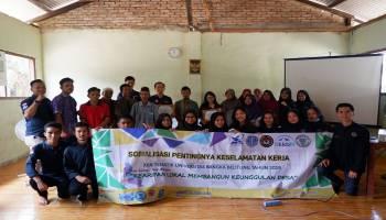 KKN UBB Desa Saing dan BPJS Gelar Sosialisasi Program JKN-KIS