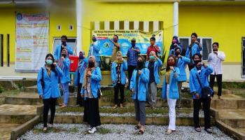 KKN UBB Siap Sukseskan Penilaian Akreditasi Perpustakaan Desa Kimak
