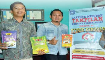 Klinik Kemasan Bantu Produk IKM
