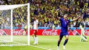 Kolombia Cukur Polandia 3-0