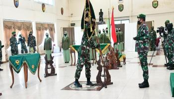 Kolonel Czi Mateus Jangkung Widyanto Resmi Jabat Danrem 045/Gaya