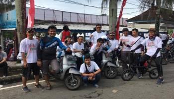 Komunitas Motor Listrik Ramaikan Millennial Safety Road Festival