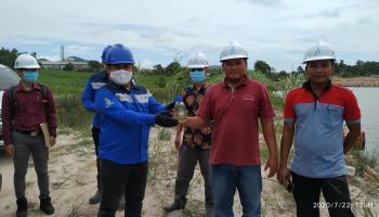 Konsultan Lingkungan PT. KME Nilai Pengolahan Limbah Cair PT. BAA Sudah Sangat Baik