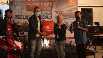 Kopdar dan Bedah Teknologi - Honda Sport Motoshow Live in Caffe Bersama Jurnalis dan Media Bangka Belitung
