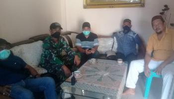 Koramil 0413-06/Sungailiat Bersama Tim Gugus Tugas Covid-19 Pemkab Bangka Karantina 10 Peserta Tablig di GOR Sungailiat