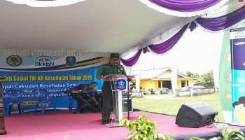 Korem 045 Garuda Jaya Siap Bekerja Sama dengan BKKBN