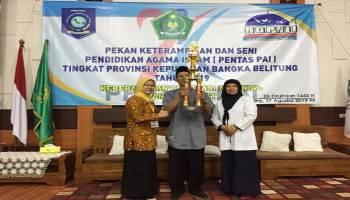 Kota Pangkalpinang Raih Juara Umum Pentas PAI Tingkat Provinsi