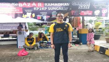 KP2KP Sungailiat Gelar Bazar Ramadhan