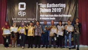 KPP Pratama Bangka Berhasil Realisasikan Penerimaan Pajak Sebesar 105 Persen