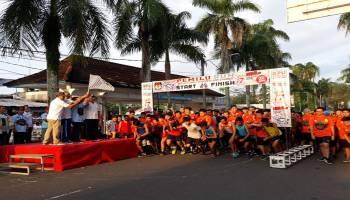 KPU Babel Gencarkan Sosialisasi Lewat Pemilu Run 2019