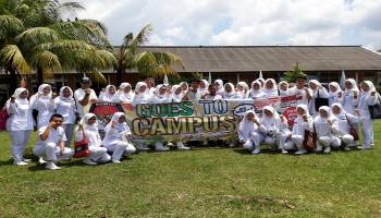 KPU Babel Goes To Campus Stikes Citra Delima