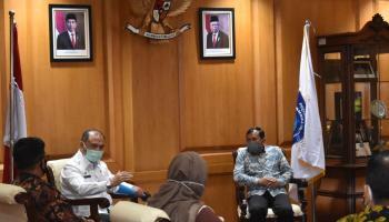 KPU Babel Temui Gubernur Erzaldi, Koordinasi Pelaksanaan Pilkada Serentak 2020