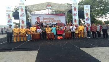 KPU Bangka Tengah Launching Maskot dan Jingle Tahapan Pemilukada Bangka Tengah 2020